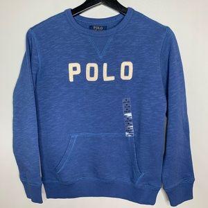 NWOT Ralph Lauren Boys Sweatshirt, size M (10-12)